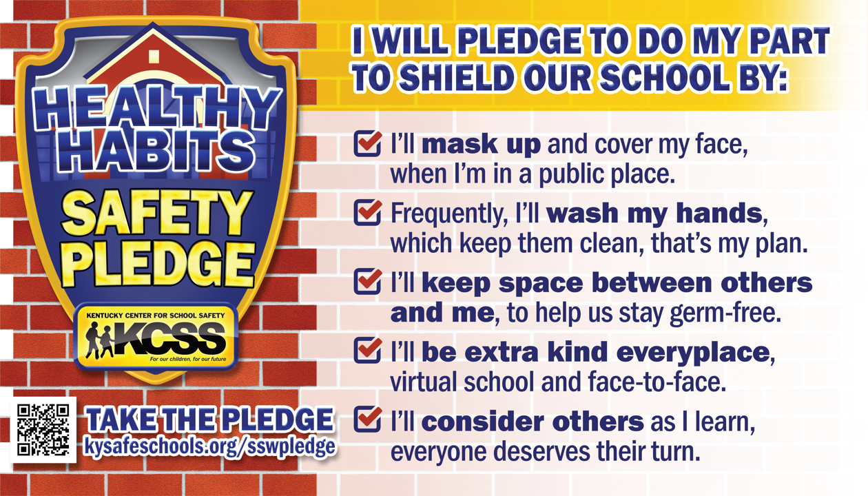 School Safety Week Pledge from Web