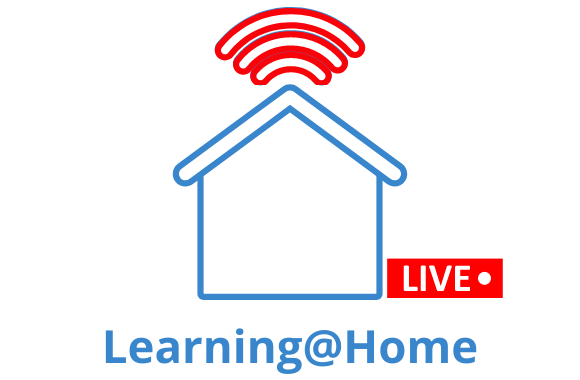 Icon for Learning at Home live times link